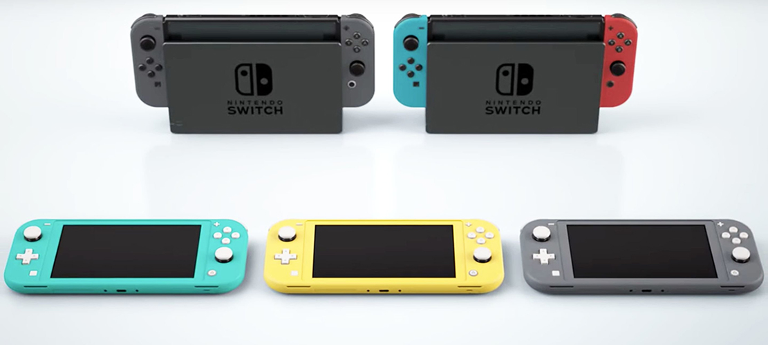 Check Out The All New Nintendo Switch Lite